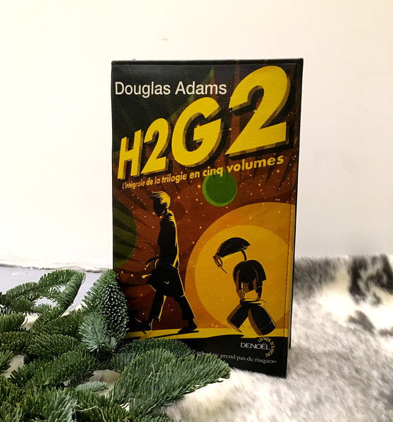 H2G2 Book Purse The Hitchhiker's Guide to the Galaxy Book Purse