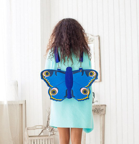 Butterfly Felt Bag Butterfly Backpack