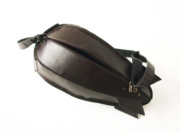 Leather Blimp Bag Leather Dirigible Bag