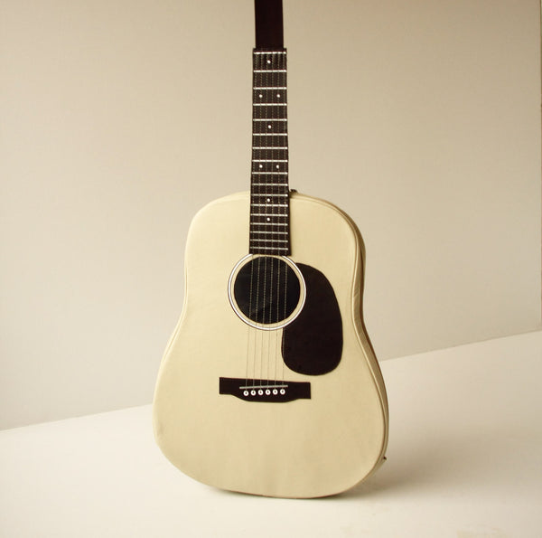 Beige Leather Bag Guitar Bag Acoustic Guitar Bag