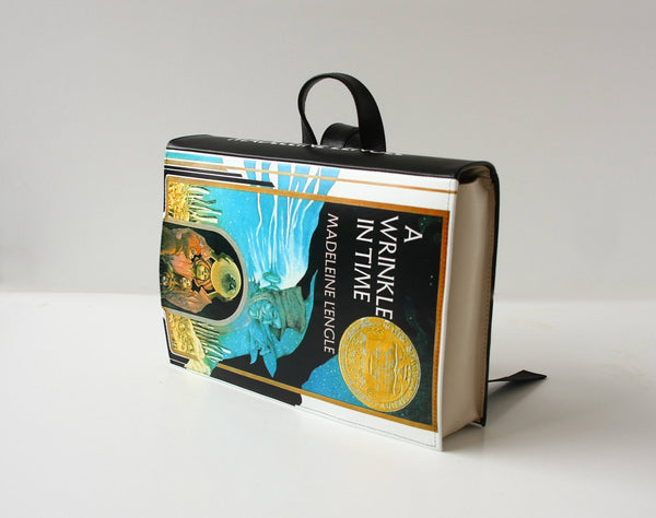 Black Leather Bag A Wrinkle in Time Book Bag