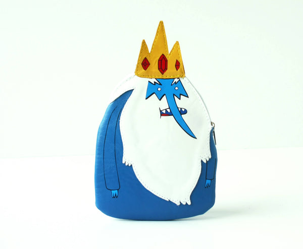 Ice King Leather Purse Adventure Time Bag
