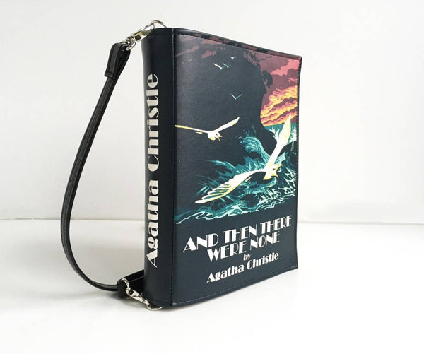 Black Leather Bag Agatha Christie Book Bag