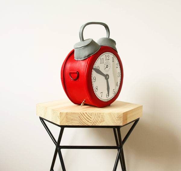 Alarm Clock Bag Clock Purse