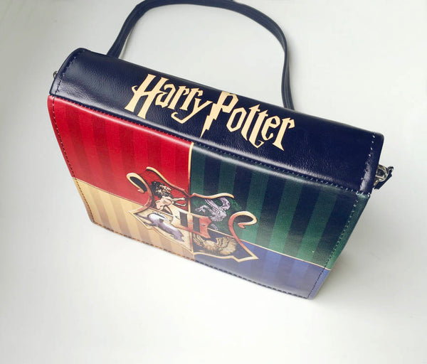 Harry Potter The Four Houses Print Book Bag