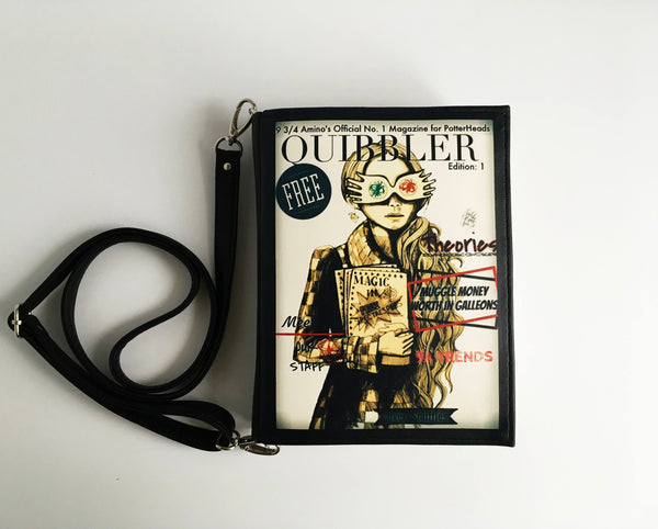 Harry Potter Quibbler Magazine Book Bag