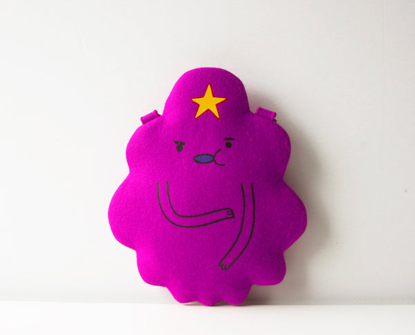 Lumpy Space Princess Felt Bag LSP Bag Lumpy Space Purse