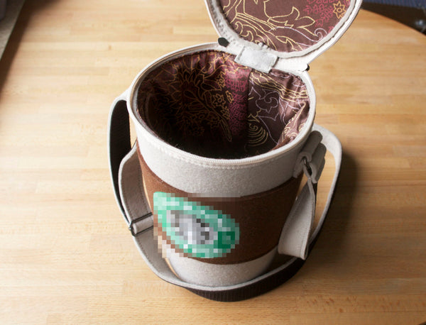Coffee Cup Felt Bag