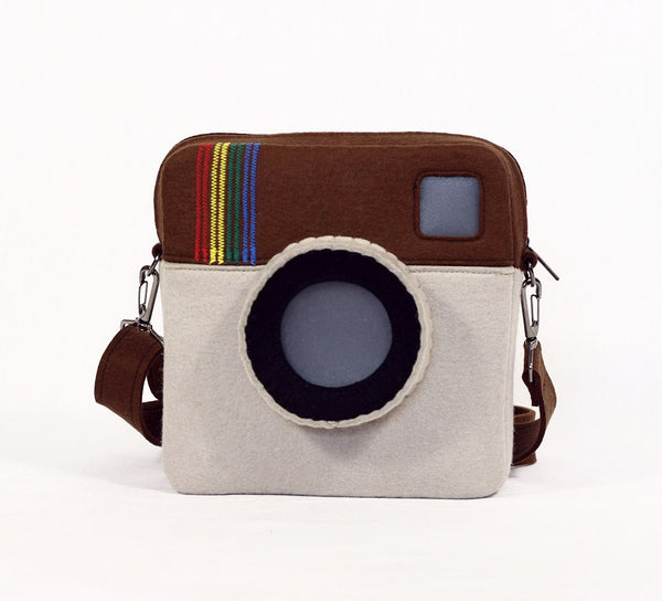 Photo camera bag photo camera purse