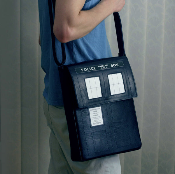 Doctor Who Messenger Bag TARDIS Messenger Bag