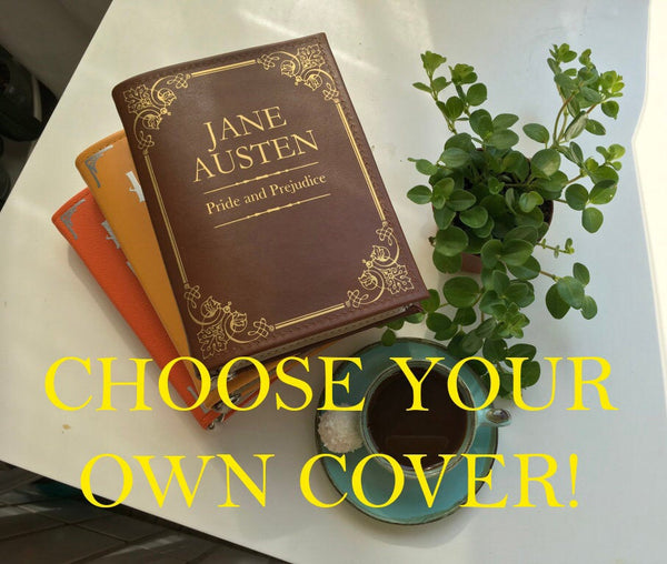 Choose Your Own Cover Book Bag Book Clutch