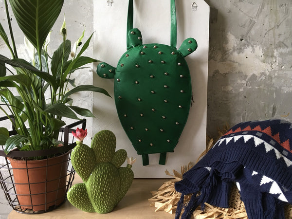 Cactus Backpack Prickly Pear Backpack