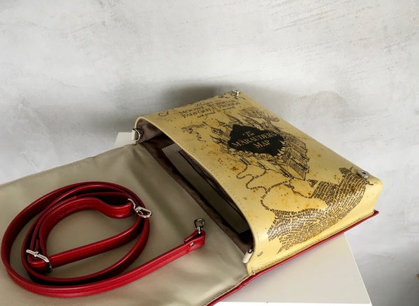 Add a page print to your Book purse - Book clutch