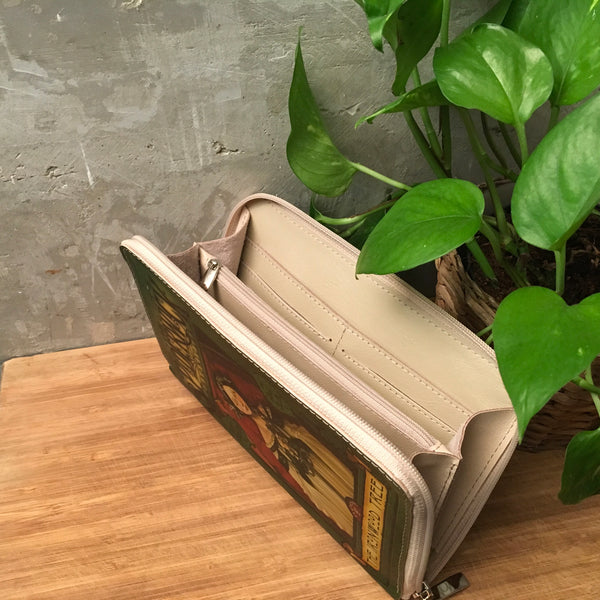 The Spiderwick Chronicles Book Clutch Leather Wallet The Ironwood Tree Book Cover Leather Wallet