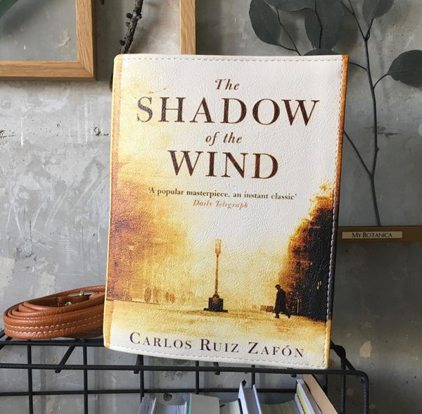 The Shadow of the Wind Book Bag Carlos Ruiz Zafon Book Clutch