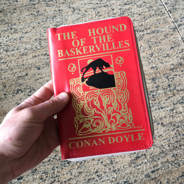 Arthur Conan Doyle Book Wallet The Hound of the Baskervilles Wallet