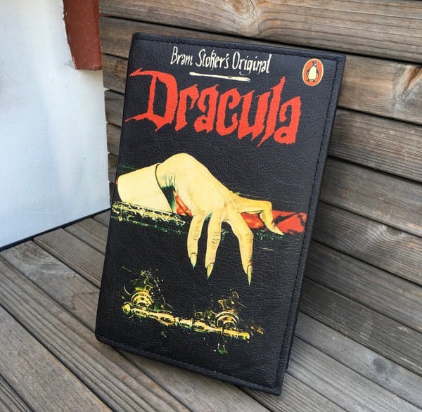 Dracula Book Bag Dracula Book Clutch Bram Stoker Book Clutch