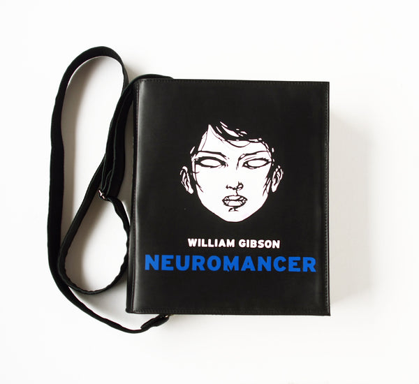 Neuromancer Leather Book Purse
