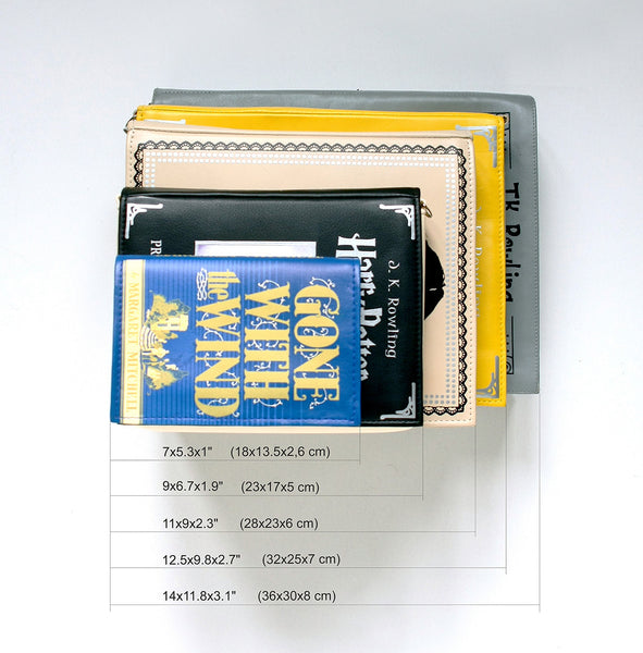 Dictionary Book Purse