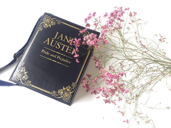 Jane Austen Book Purse