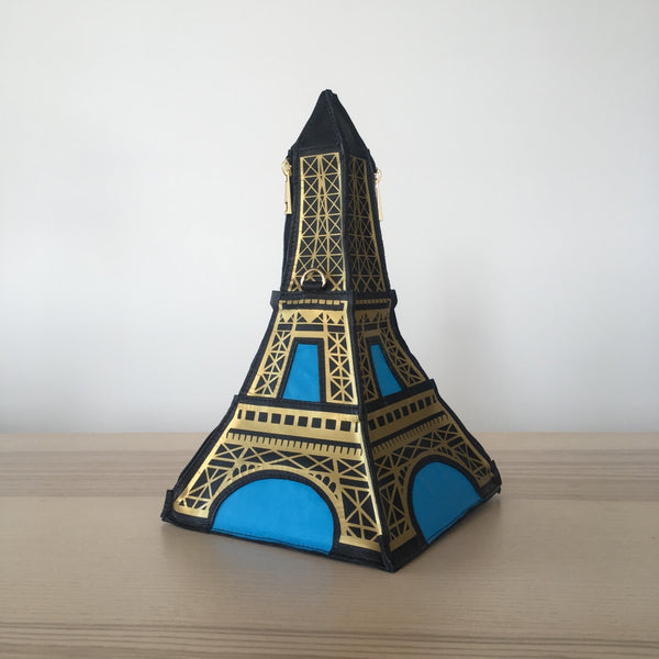 Eiffel Tower Bag Felt Eiffel Tower Purse