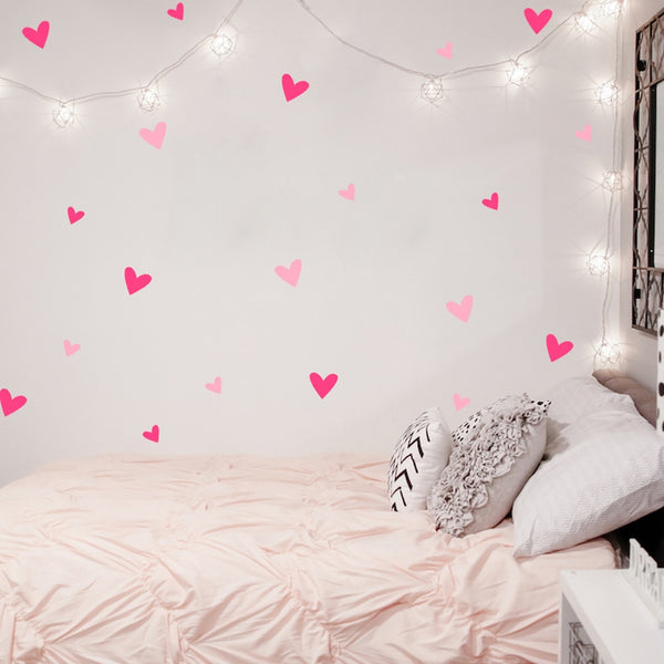 Heart Heart Heart Decals - My Urban One
