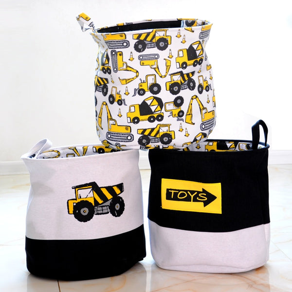 Cars Printed Storage Basket - My Urban One