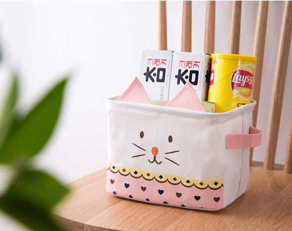 Lovely Cartoon Storage Basket - My Urban One