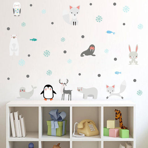 Winter Animals Wall Decals - My Urban One