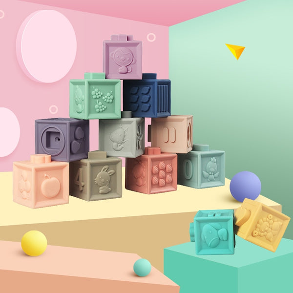 Soft Baby Building Blocks - My Urban One