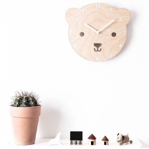 """The Year Of The Bear"" Wall Clock - My Urban One"