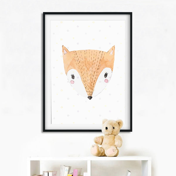 """It Was The Fox""  Canvas Print - My Urban One"