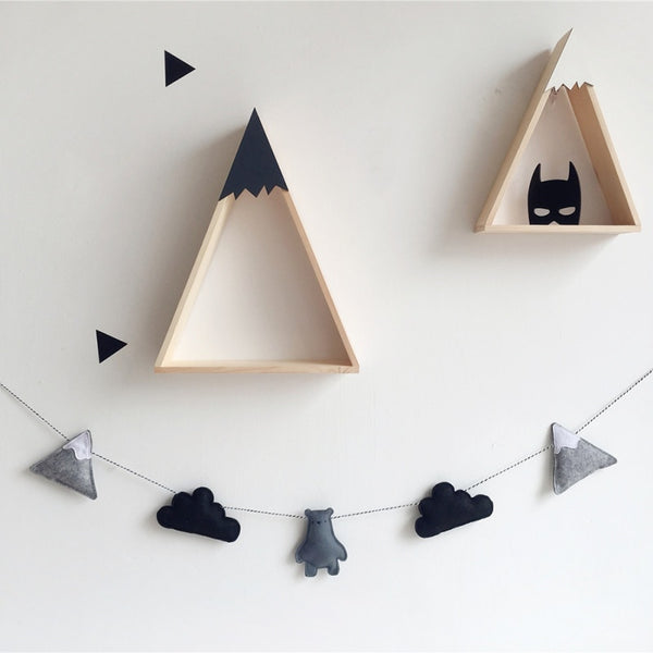 Nordic Felt Cloud Garland - My Urban One