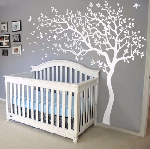 Nursery Tree Wall Decal Stickers - My Urban One
