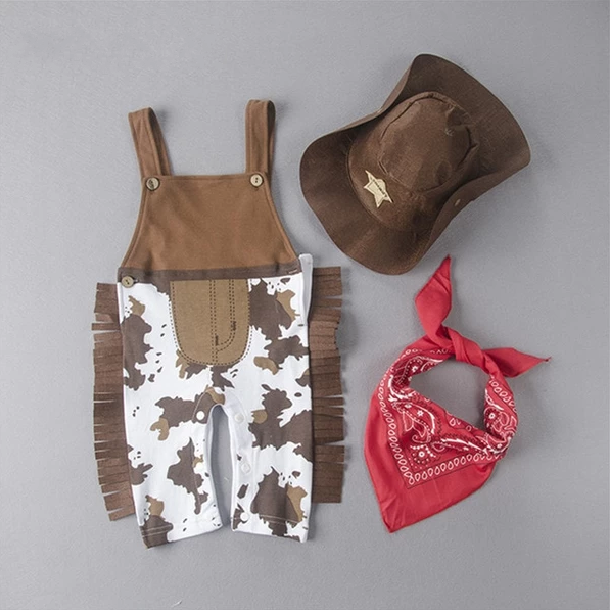 Cowboy Romper Costume - My Urban One