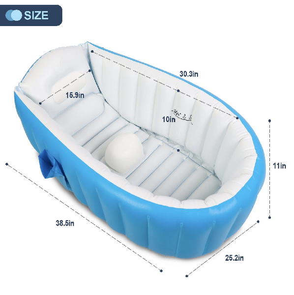Portable Inflatable Baby Bathtub - My Urban One
