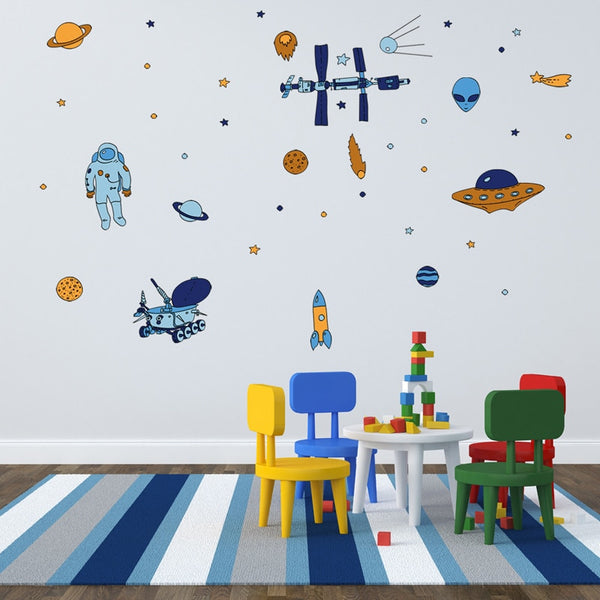 Space and Beyond Wall Decals - My Urban One