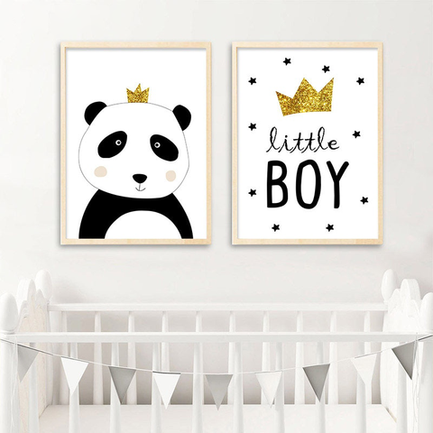 Panda Love Canvas Print - My Urban One