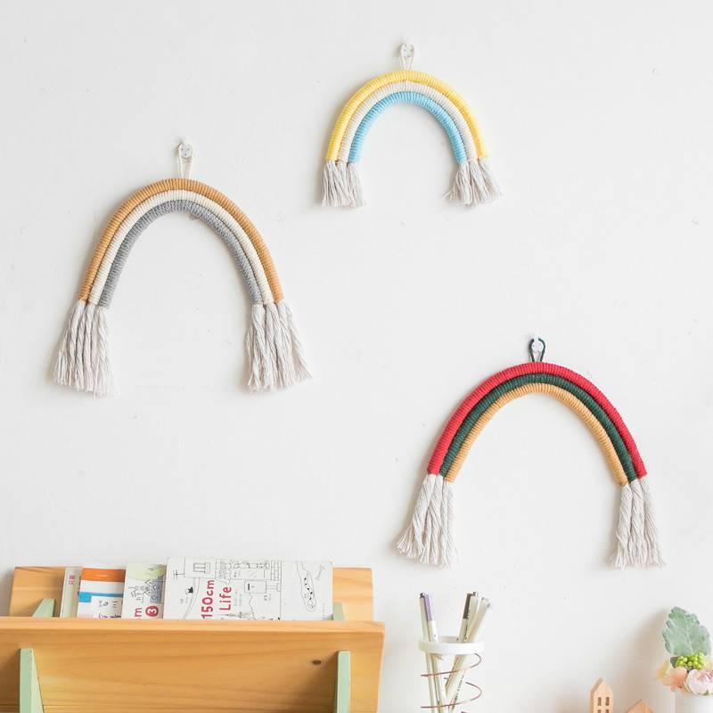 """You Are My Rainbow"" Wall Hanging - My Urban One"