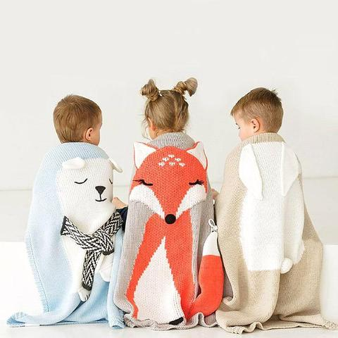 Animal Cartoon Baby Blanket - My Urban One