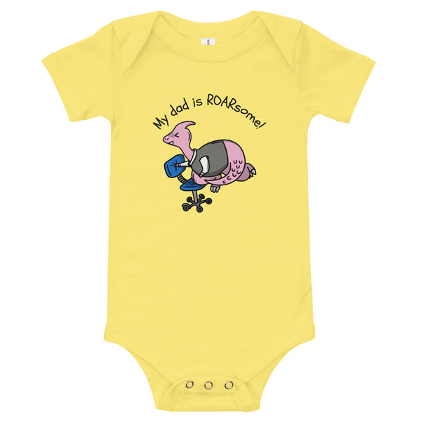 My dad is ROARsome! Bodysuit - My Urban One