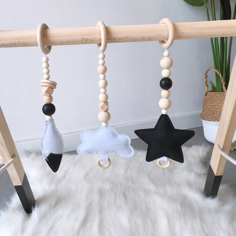 Nordic Wooden Beads Ornament For Baby - My Urban One