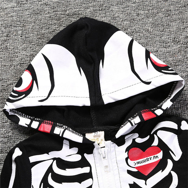 Skeleton Hooded Costume - My Urban One