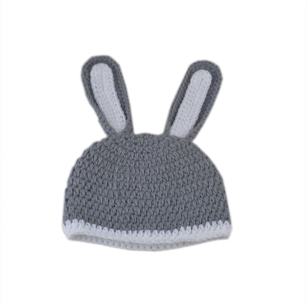 Baby Rabbit Knitted Photo Props - My Urban One