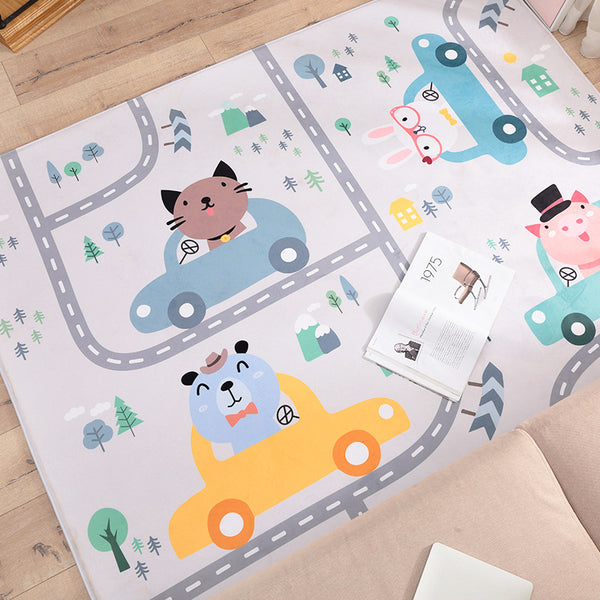Baby Piggy Road Playmat - My Urban One