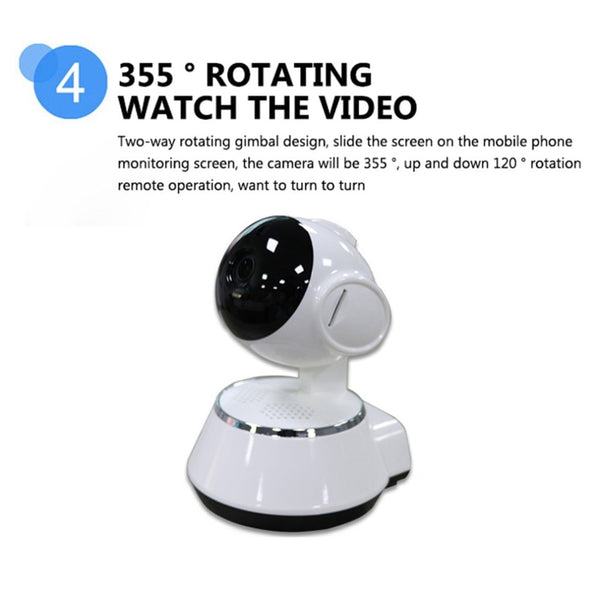 Baby Monitor Portable WiFi IP Camera 720P HD Wireless - My Urban One