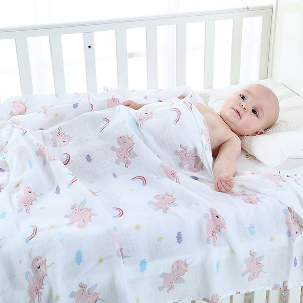 Muslin Baby Bamboo Blanket - My Urban One