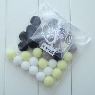 2M Handmade Macaron Colored Ball Room Decor - My Urban One