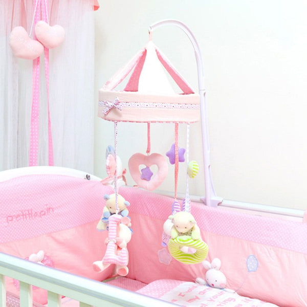 Colorful Rabbit Newborn Mobile - My Urban One