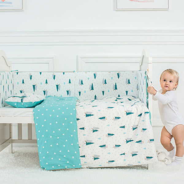 Cotton Baby Bed Bumpers Baby - My Urban One
